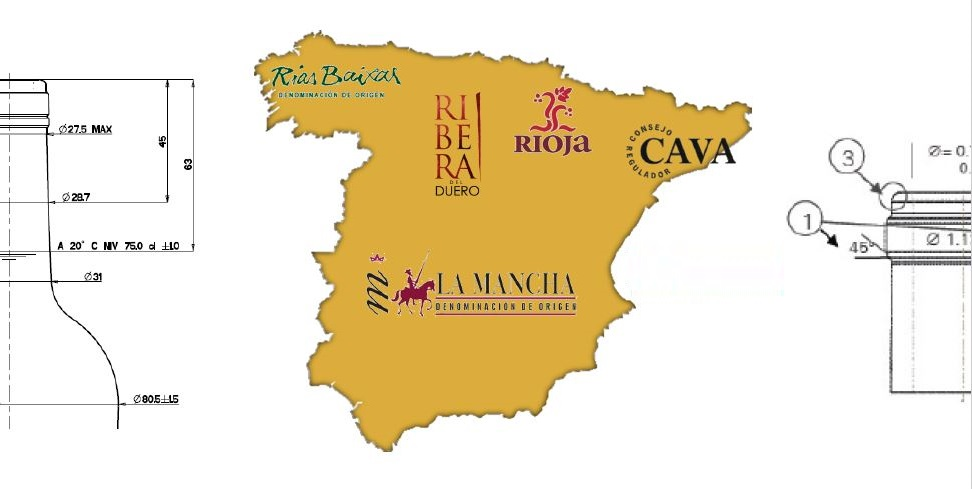 Choose from different Spanish origins and D.O.'s for your Spanish wine brand, private label sourcing