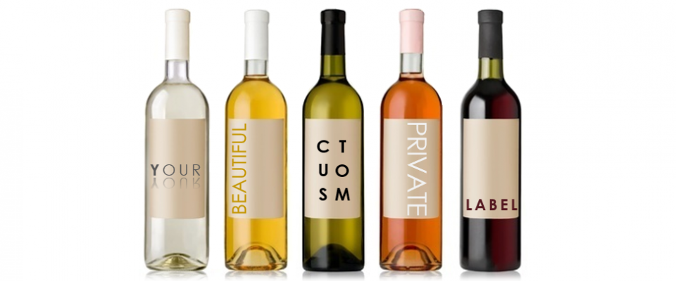 Spanish wines with your private label